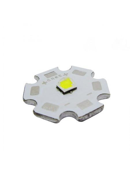 Cree XP-L V5-1A, 6000K, 20мм