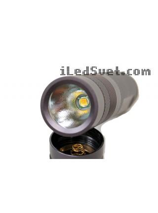 Convoy S2+, ультрафиолетовый, светодиод UV Nichia 365 нм