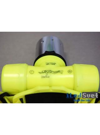 Подводный налобный фонарь на диоде CREE XM-L2 T6