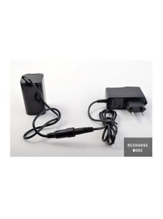 Налобный фонарь / Велофонарь на диоде XML-T6 + АКБ+ Зарядное