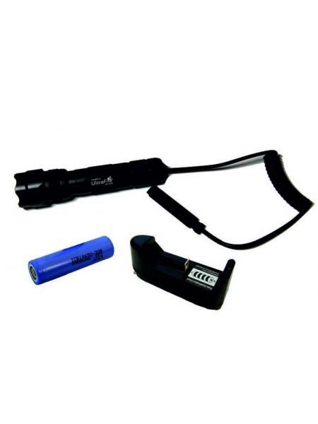 UltraFire 502 + выносная кнопка + Samsung 3000 мАч + зарядное
